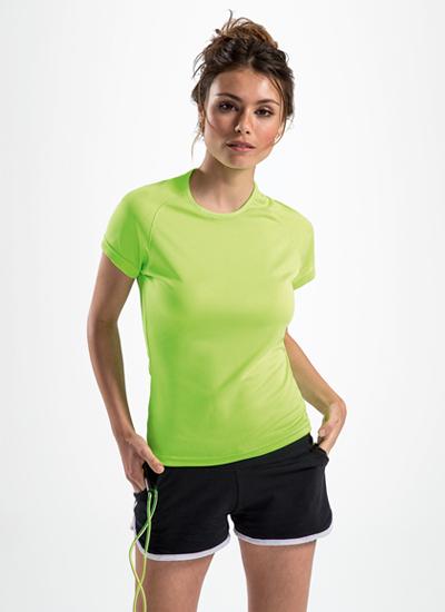 Женская спортивная футболка Sol's Sporty Women